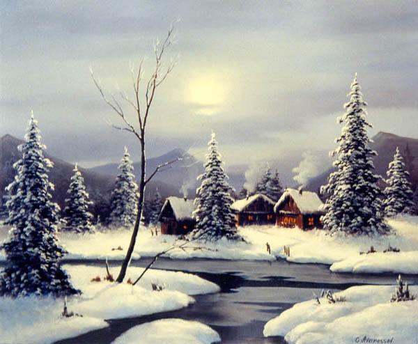 Зимовье.