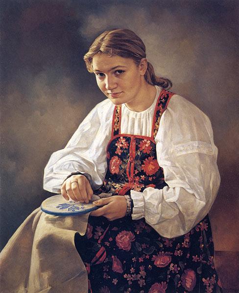 На страницах издания собрано большинство произведений художника - картины о русской истории, среди которых...
