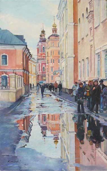 Пейзаж городской пейзаж москва