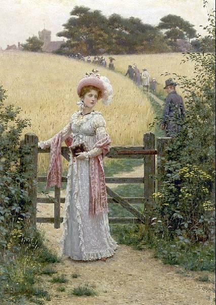 лейтон сад женщина