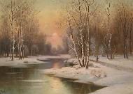 Живопись картины пейзаж природа