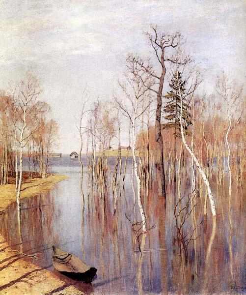 Левитан и и весна большая вода