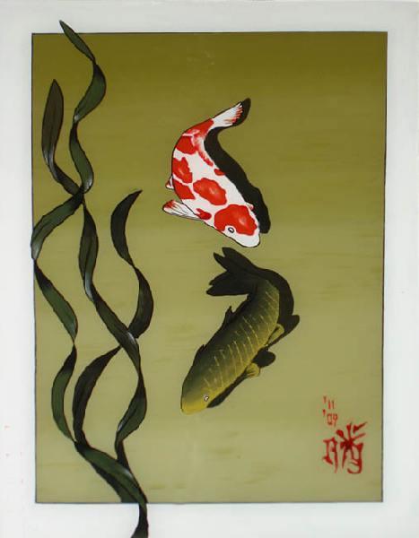 Японская живопись картины в японская