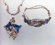 Парюр (колье и браслет).