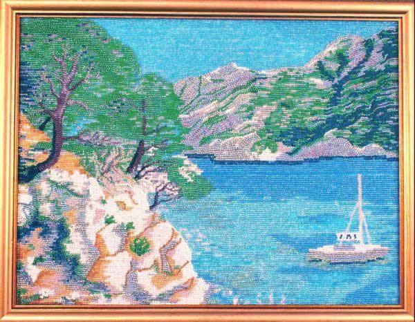 Картины из бисера со схемами Новая Свобода, Картины из бисера.
