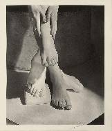 Barefoot beauty, Vogue, New York, 1941